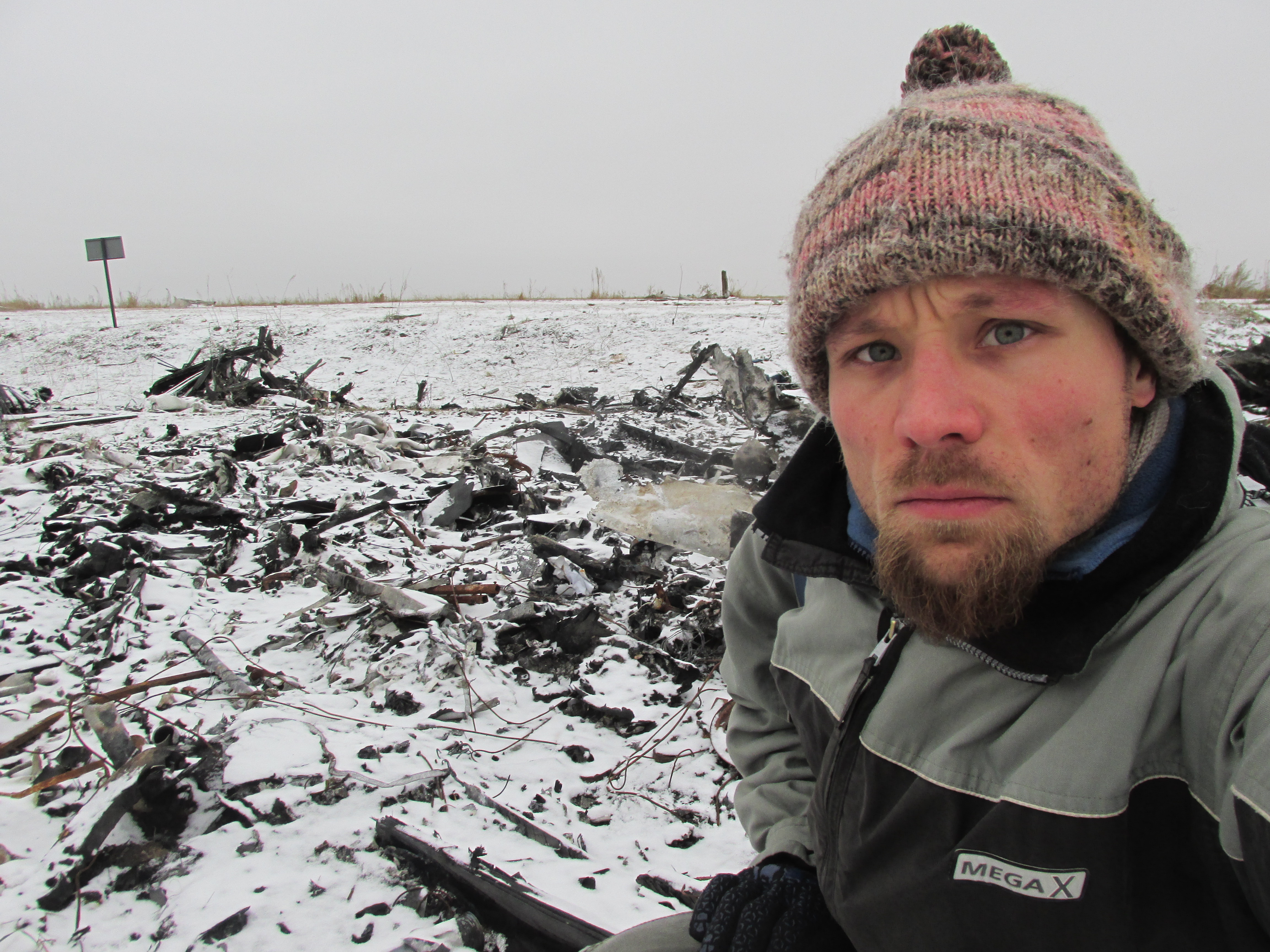 Am Abgrund der Dinge - Friedhof MH17 bei Grabowo (November 2014)