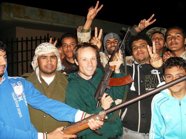 "Tobruk, Anfang März 2011 - Möge ""das Spiel"" beginnen ..."