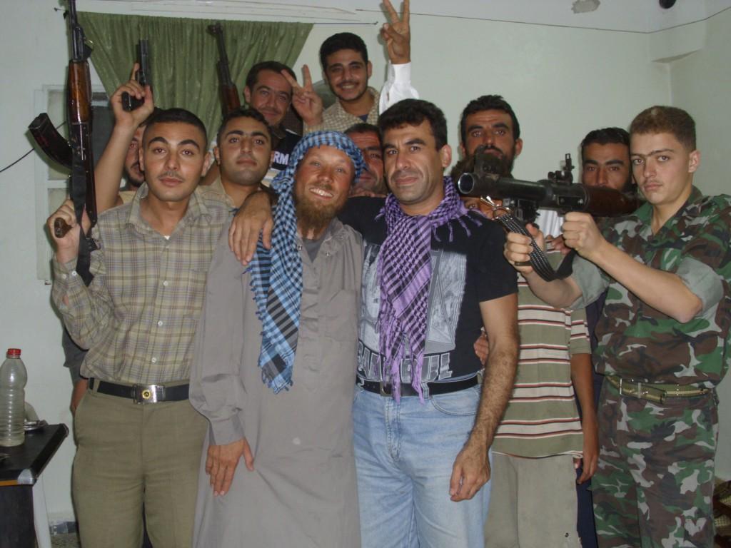 Bin ich hier richtig? (Freie Syrische Armee von Talminis, August 2012)