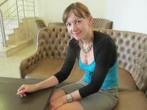 Elena Korneva, stellvertretende Vertriebschefin