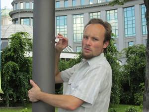 Sichtbar für jeden: Der Schuss kam vom Balkon der Nationalbank - (c) Billy Six