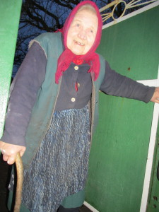 """Großmütterchen Katherina in Pervomais`kyi: """"Es war eine schöne Zeit"""""""